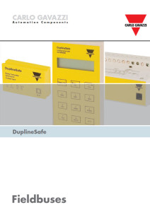 Dupline Safe for sikkerhets anvendelser