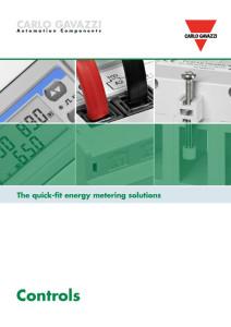 EM270, EM271 og EM280 energimålere / forbruksmålere