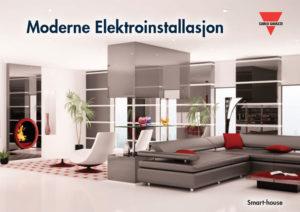 Moderne Elektroinstallasjon med Smarthouse styresystem fra Carlo Gavazzi