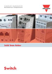 Produktoversikt Solid state reeler (SSR)