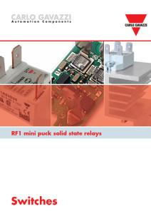 SSR mini puck RF1-serien