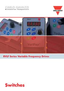 Frekvensomformere RVFL-serien