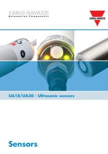 Ultralyd givere serie UA18 og UA30