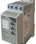 3-fase mykstarter for generell drift. 220-400V. Nominell strøm 32A. 24V styresignal. 15kW. Carlo Gavazzi
