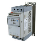 3-fase mykstarter for pumper. 220-400V. Nominell strøm 37A. 24V styresignal og elektronisk vern. Carlo Gavazzi