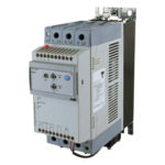 3-fase mykstarter for pumper. 220-400V. Nominell strøm 55A. 24V styresignal og elektronisk vern. Carlo Gavazzi