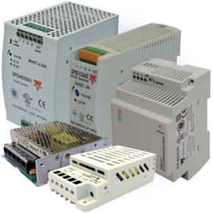 Standard, modulære, kapslede og 3-fase strømforsyninger
