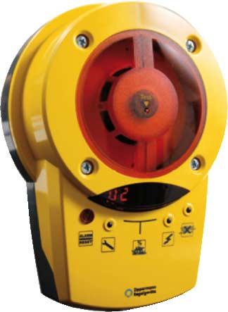 Produal Røykdetektor KRM-2 for røykdeteksjon i ventilasjonskanaler