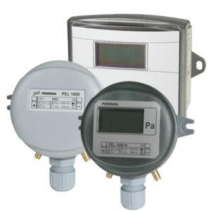 Produal differansetrykktransmittere for luft