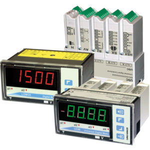 Standard og modulbaserte panelinstrumenter fra Carlo Gavazzi