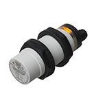 Kapasitiv giver/sensor M30 i kunststoff. Gjenget. Sensoren er uskjermet