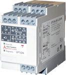 Programmerbar måleverdiomformer for usymmetrisk last med utgang 3x20mA. For DIN-skinne montasje. Byggebredde 45mm. Hjelpespenning 18-26VAC/DC.