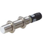 Induktiv giver. M12 utførelse. 2-leder AC utgang. NO. 2mm føleavstand. Rustfritt stål. M12 plugg.