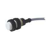 Induktiv giver. M18 utførelse. PNP utgang. NO. 5mm føleavstand. Kunststoff. 2m kabel.