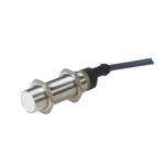 Induktiv giver. M18 utførelse. 2-leder AC utgang. NO. 8mm føleavstand. Rustfritt stål. 2m kabel.