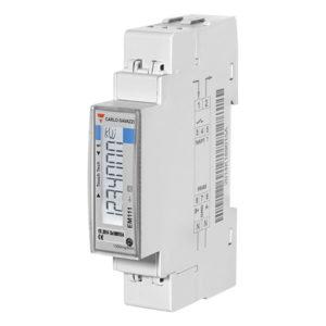 1-fase energimåler/forbruksmåler serie EM111