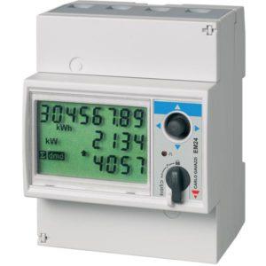 Energimåler/forbruksmåler EM24-DIN fra Carlo Gavazzi