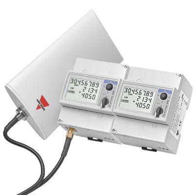 EM24 energimålere med trådløs MBUS