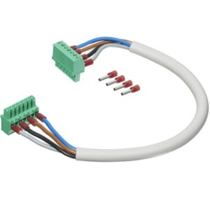 EM270WSV2Txx Spenningskabel med terminalblokk i begge ender