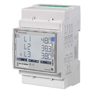 Energimåler 3-fase 230/400VAC 5A med RS485 Modbus