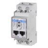 1-fase energi-/forbruksmåler for direkte måling maks. 100A. Uten display. RS485 Modbus grensesnitt og optisk port. Tilgang til alle relevante måleverdier. Modulærutførelse med byggebredde 2-moduler.