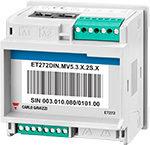 Energi-/forbruksmåler for måling av alternativt 2 stk. 3-fase eller 6 stk. 1-fase laster. Uten display. RS485 Modbus grensesnitt. Tilgang til alle relevante måleverdier. Modulærutførelse 4-moduler.