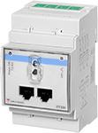 3-fase energi-/forbruksmåler for måling via strømtransformatorer. Uten display. RS485 Modbus grensesnitt og optisk port. Tilgang til alle relevante måleverdier. Modulærutførelse med byggebredde 3-moduler.