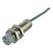 Induktiv giver i IO-Link utførelse. M18 i forniklet messing. Lengde 50mm. Uskjermet med koblingsavstand 14mm. Med 2m kabel.