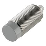 Induktiv giver. M30 utførelse. PNP utgang. NO. 22mm føleavstand. Rustfritt stål. M12 plugg.