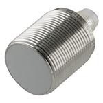Induktiv giver. M30 utførelse. PNP utgang. NO. 15mm føleavstand. Rustfritt stål. M12 plugg.