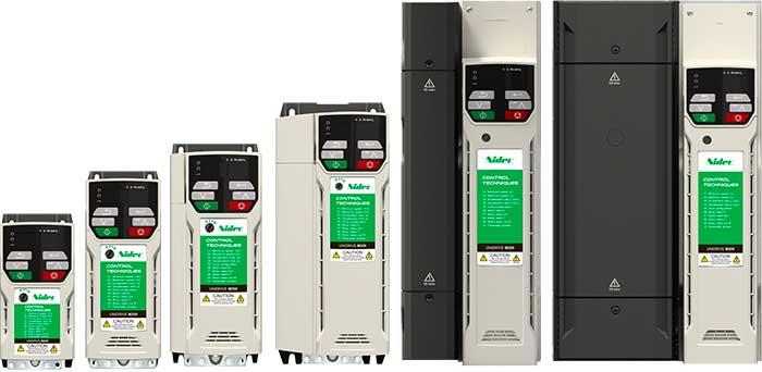 M200 serien Unidrive frekvensomformere