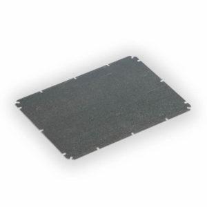 Monteringsplate i galvanisert stål til Ensto Cubo O. 160x260x1