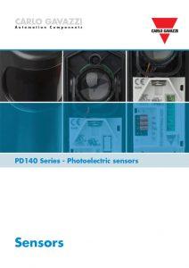 Fotoceller PD140-serien fra Carlo Gavazzi, brosjyre