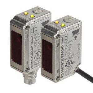 PD30 serie IO-link miniatyr fotoceller i plasthus med plugg og kabel