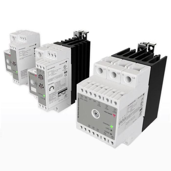1- og 3-fase proporsjonale SSR regulatorer. RGCxP-serien