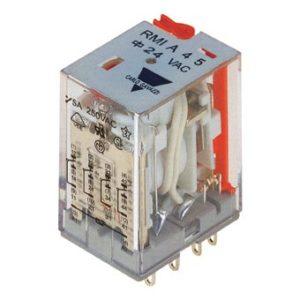14-pins hjelperele med 4 vekselkontakter. Spolespenning 48VDC. Marinegodkjent (RINA).