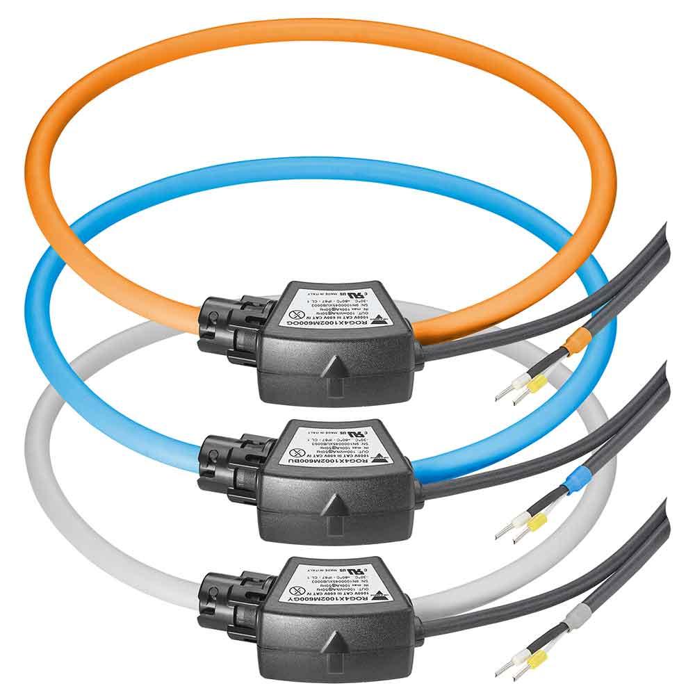 ROG4X1002M600 Fleksible delbare strømtransformatorer (Rogowskispoler)