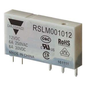 5-pins hjelperele med 1 vekselkontakt. Spolespenning 12VDC.