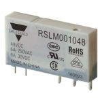 5-pins hjelperele med 1 vekselkontakt. Spolespenning 48VDC.