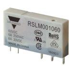 5-pins hjelperele med 1 vekselkontakt. Spolespenning 60VDC.