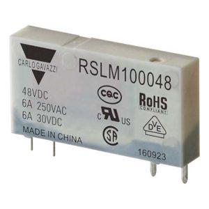 4-pins hjelperele med 1 NO-kontakt. Spolespenning 48VDC.