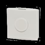 Romføler for Modbus kommunikasjon uten Display. Utførelse Hvit  . Måleområde 0...50 °C