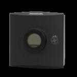 Romføler for Modbus kommunikasjon med Display. Utførelse Sort Vifteknapp . Måleområde 0...50 °C