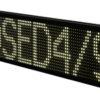Carpark display som viser 9 siffer eller bokstaver. Aluminiumsramme. Størrelse 222. 24 VDC forsyning. For innen-/utendørs montering. Med oppvarmet display