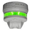 Carpark ultralydsensor med vertikal detektering. Tydelig 360⁰ indikering. 8 fritt valgbare farger. Monteres over kjørebanen. Bussforsynt.