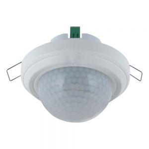 SBQP360L24M PIR-sensor for innfelt takmontering med 360 graders deteksjonsvinkel