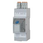 Overvåkningsmodul og buskontroller for RG…N-serien med solid state releeer og kontaktorer. Modbus RTU grensesnitt mot PLS/kontroller for overvåkning av inntil 48 releer.