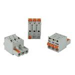 Fjærklemmeterminaler for alarmutgang RGC…M-serien