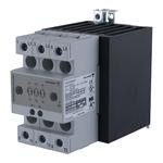 Solid state effektregulator med integrert kjøleplate