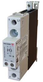 Solid State kontaktor med integrert kjøleribbe